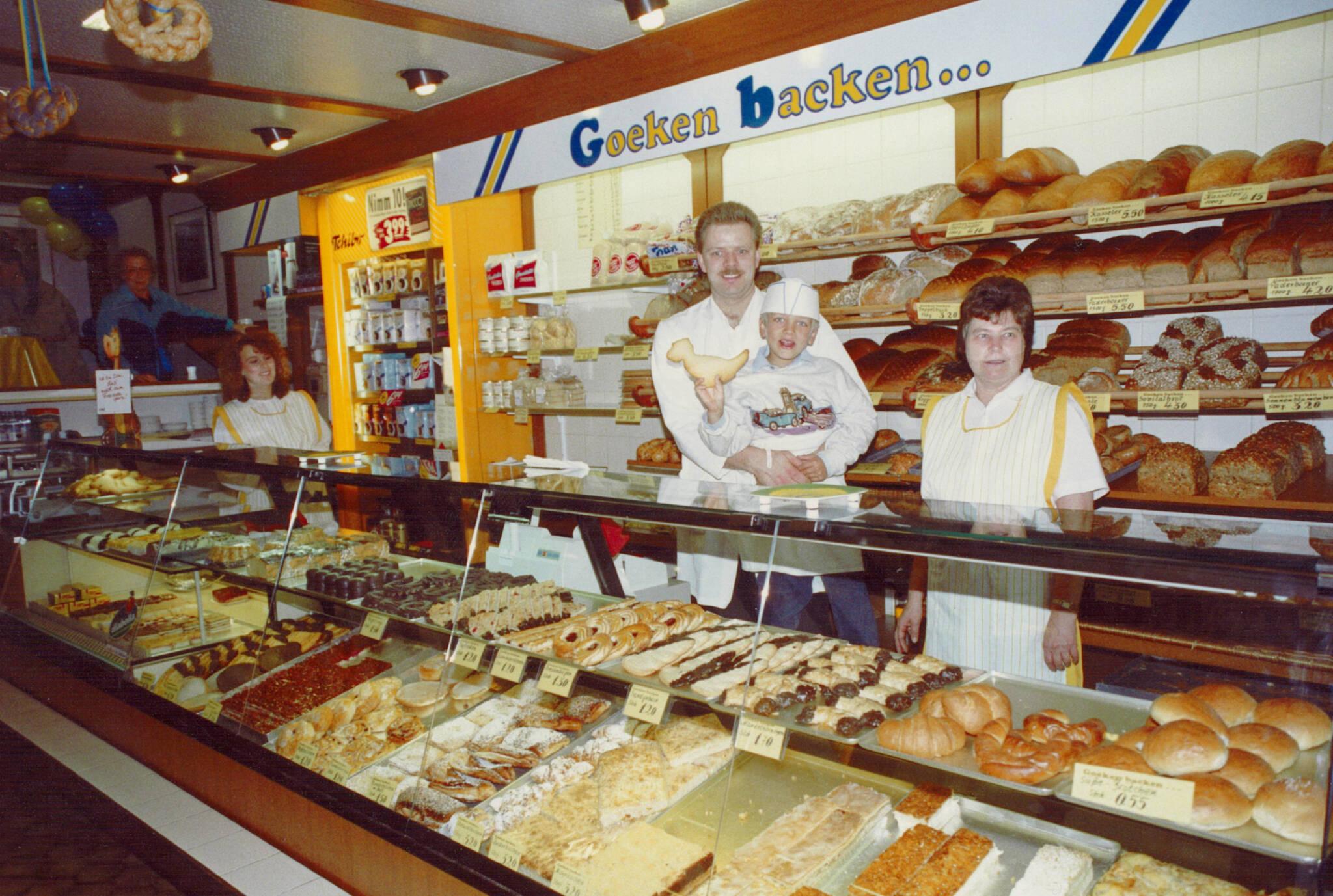 Goeken backen - Historische Bilder