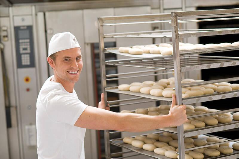 Arbeiten als Bäcker
