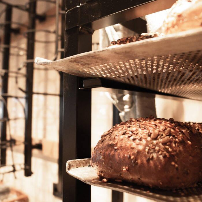 Bäckerei mit modernem Ambiente