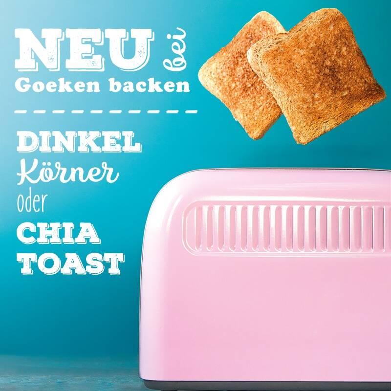 Chia Toastbrot und das Dinkel Körner Toast